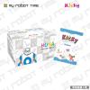 韩端(handuan)AM0005积木教育机器人,创客教育机器人可拼装积木类玩具 儿童积木玩具