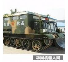 润泰XF131 多功能森林消防坦克 消防机器人 智能消防  灭火机器人