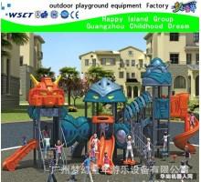 机器人户外滑梯 儿童户外游乐设备 幼儿园滑梯 户外滑滑梯