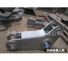 大型厚板切割焊接钣金加工机器人安装座工作台安装喷涂热镀锌