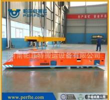 帕菲特装备制造1吨电动无轨道平车优势建筑木料件加工