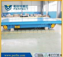 1-10吨分解车体道轨平板车 装备技术台车现场案例图
