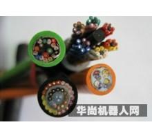 中国名牌 安扬高柔 特种数控软 电线电缆  机器人系统电线 双击屏蔽线