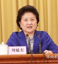 刘延东:让更多人共享机器人发展成果