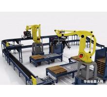 码垛机器人,装卸货机器人,全自动高速码垛机尽在灵动机电 集装机械